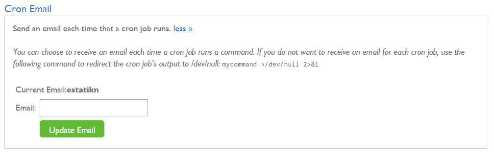 Cron Job Setup - Estatik