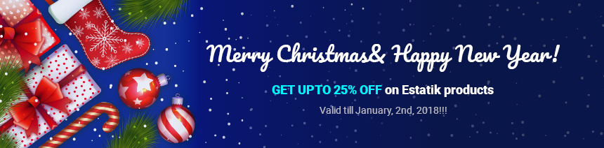 estatik christmas sale