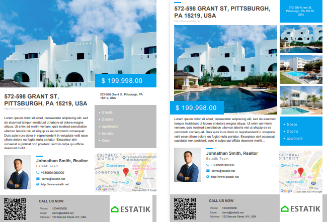 Upgrade your PDF flyer with new Estatik 3 8 5! - Estatik